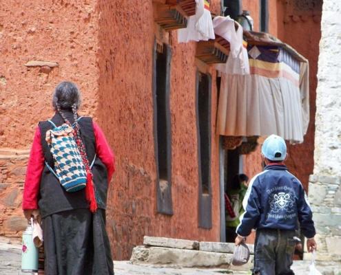 Mieszkańcy Tybetu